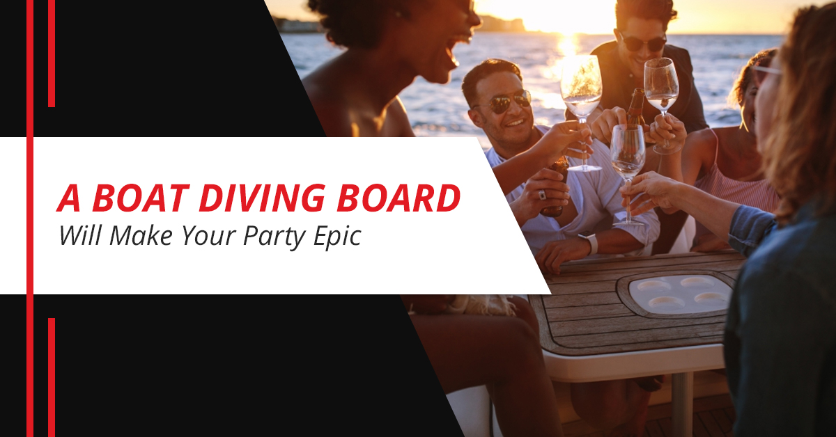 A Boat Diving Board Will Make Your Party Epic