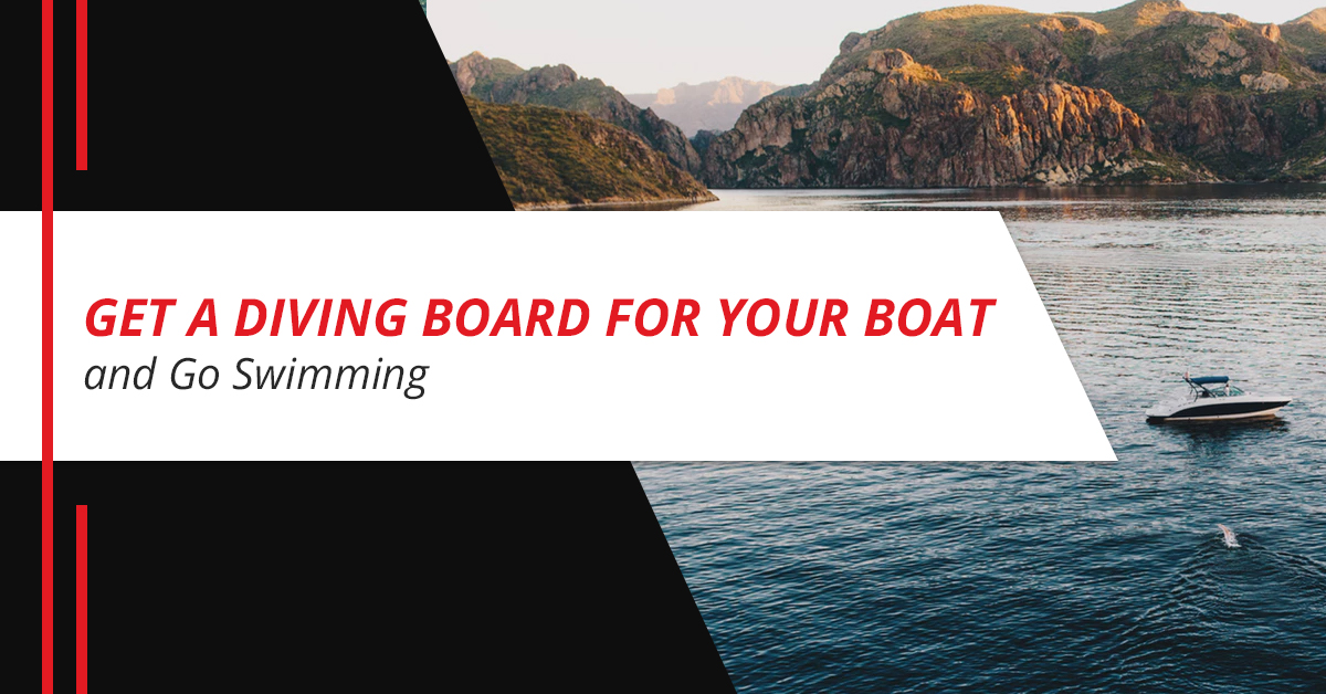 Get a Diving Board for Your Boat and Go Swimming