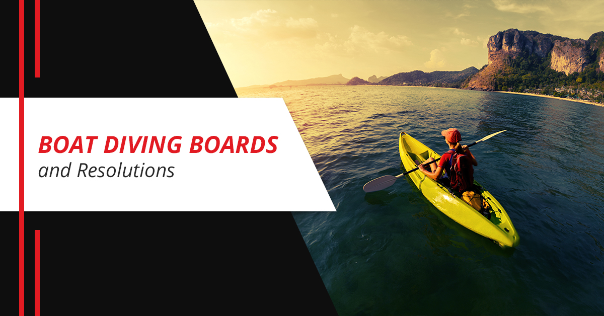 Boat Diving Boards and Resolutions