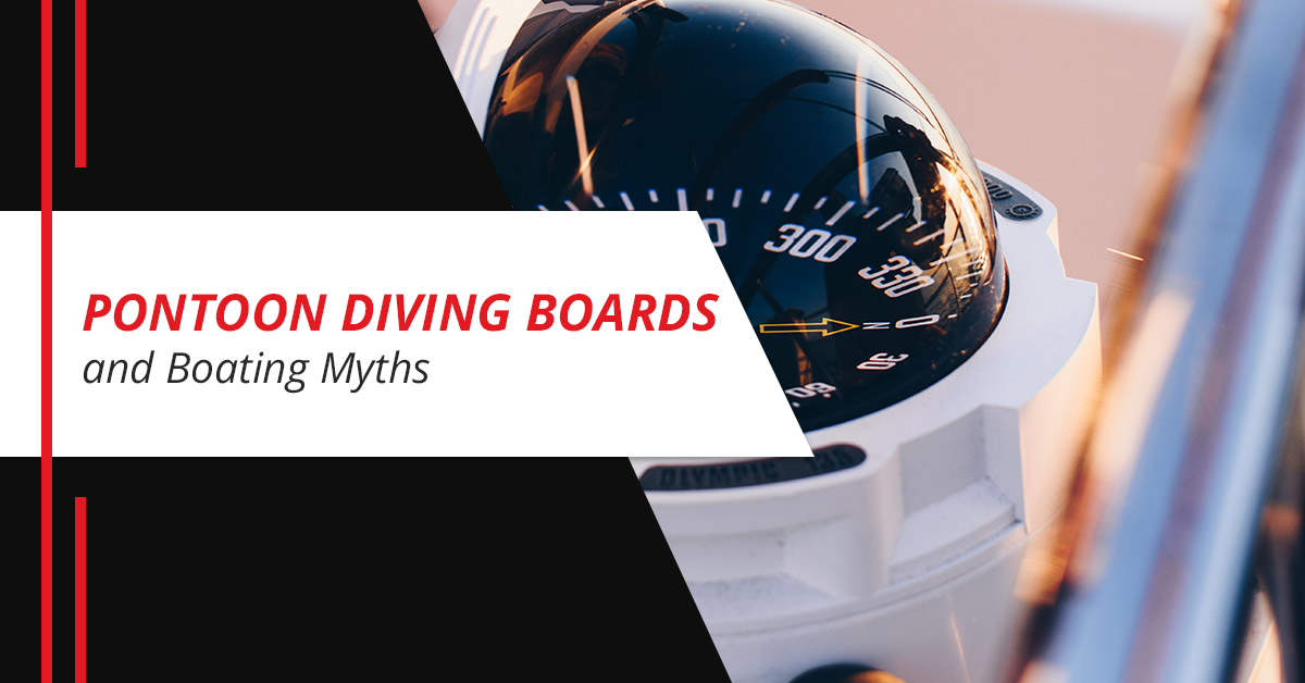 Pontoon Diving Boards and Boating Myths