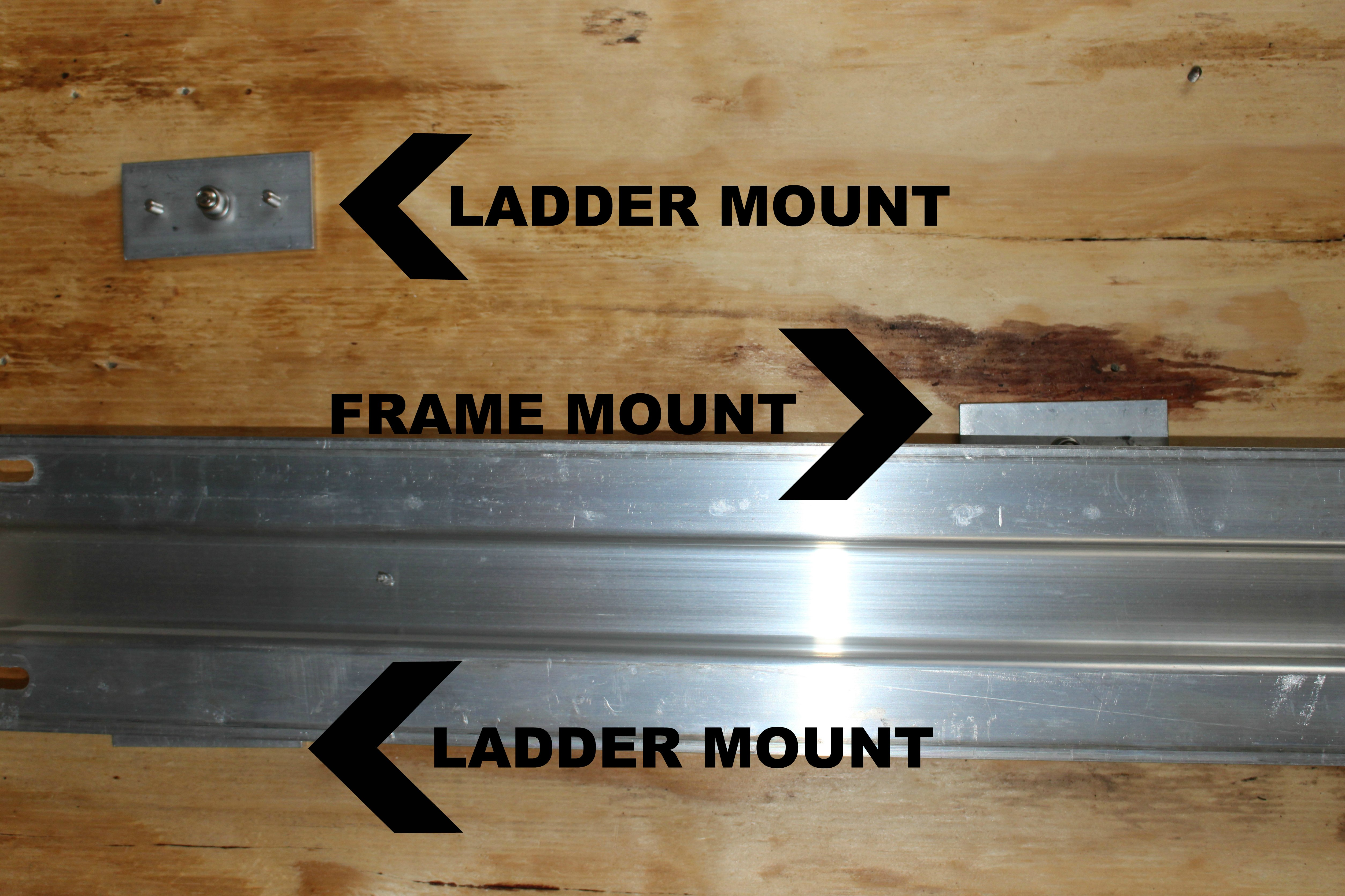 Cross Member with Underfloor Mount